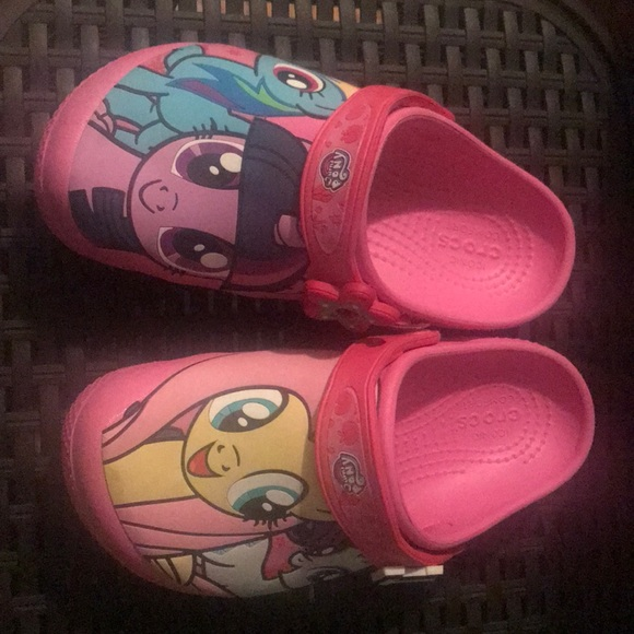 CROCS Other - My little pony pink crocs